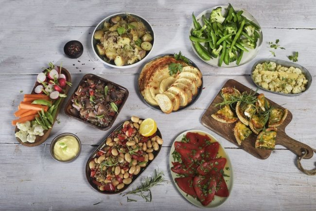 Buffet mat - vegetar og vegan